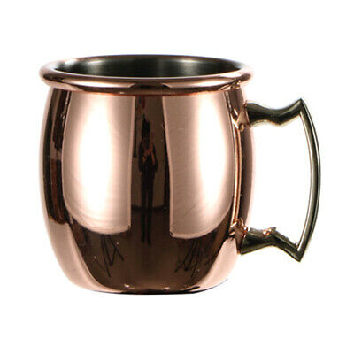 Copper Plated Stainless Steel Moscow Mule Mug Beer Vodka Coffee Cups 60ML