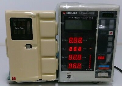 Colin Press Mate BP8800 NIBP Blood Sphygmomanometer Monitor Nellcor N-20 -- 3G-2
