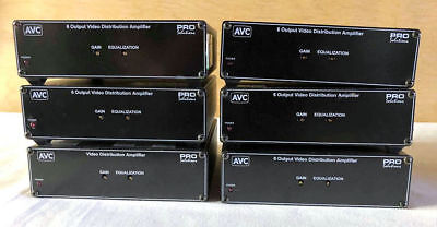AVC VDA600 6 x Output Video Distribution Amplifiers