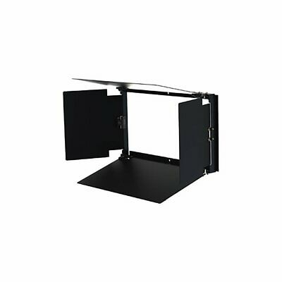 Cineo Lighting Hs 4-Leaf Barn Door, Black Anodized Aluminum