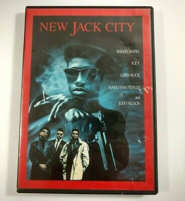 New Jack City DVD 1991 Widescreen Wesley Snipes Ice T Chris Rock Judd Nelson