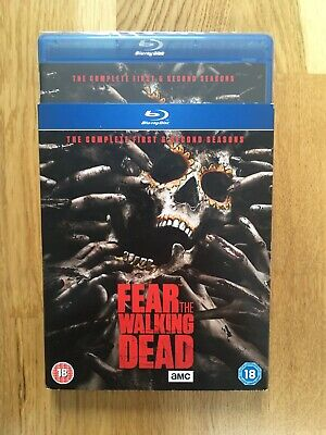Fear The Walking Dead - First And Second Seasons - Bluray - Sealed