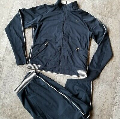 Nike Track Suit Warmup Jogging Pants and Windbreaker Jacket Women's Size M