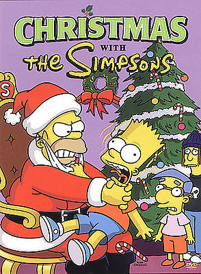 The Simpsons Christmas Episodes.Dvd The Simpsons Christmas Mr Plow Miracle On Evergreen Terrace 5 Episodes