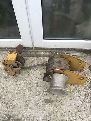 CAPSTAN WINCH WORM 2 Way Pto Forestry Petrol Diesel Tractor Van Pack Cable  Pull
