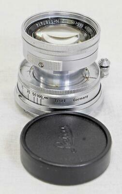 Leitz Leica 5cm (50mm) F/2.0 Summicron Collapsible M-Mount Lens - NICE (3087)