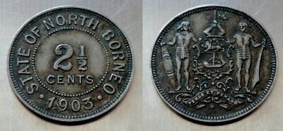2 1/2 Cents 1903 - State Of North Borneo