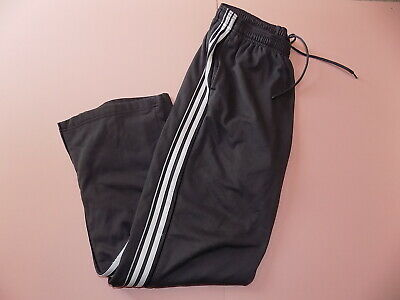 Vintage Grey & white stripe Reebok tracksuit bottoms size L