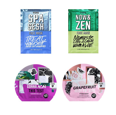 dfd91a7161754 FACE MASKS LOT Of 4 Victoria Secret Pink Nourishing Skincare Sheets New  Retired