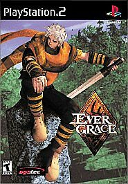 Evergrace (Sony PlayStation 2, 2000) COMPLETE AGETEC EVER GRACE   FAST SHIP PS2