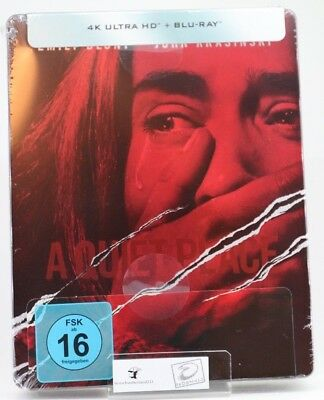 A Quiet Place - (4k UHD) Limited Steelbook (exklusiv bei Amazone) [Blu-ray]