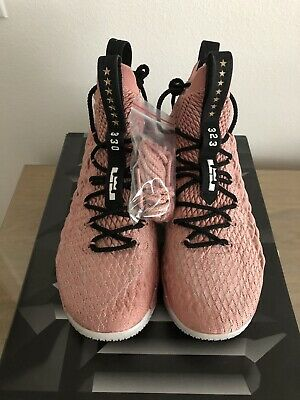 """Lebron Xv 15 Limited """"Hollywood"""" Rust Pink Size 11.5 Vnds"""