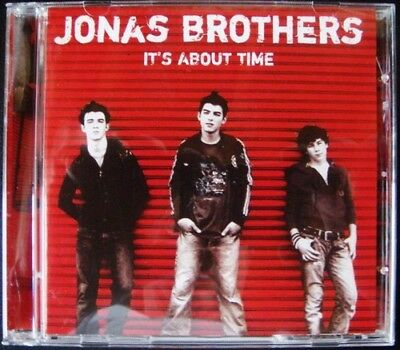 JONAS BROTHERS It's About Time NEW CD
