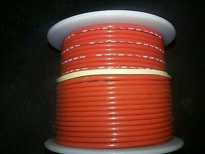 M22759/16-16-2   16 awg. Stranded Red Tefzel Ins.  Airframe Wire 100 ft. Spool