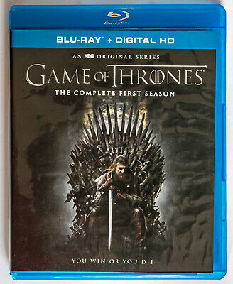 GAME OF THRONES SEASON 1 (Blu-ray, 2014) including Digital Code As NEW