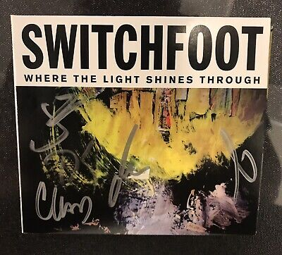 Switchfoot - Where The Light Shines Through CD Signed By The Band