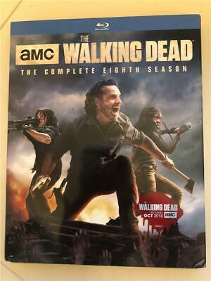 NEW The Walking Dead: The Complete Eighth Season (Blu-ray Disc, 2018)