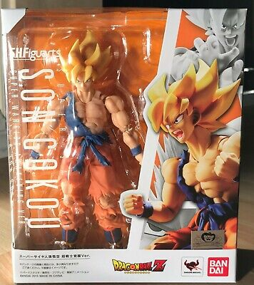Bandai SH.Figuarts Dragon Ball Z Super Saiyan Son Goku Warrior Awakening **USA**