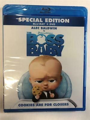 NEW The Boss Baby (Blu-ray & DVD, 2017)
