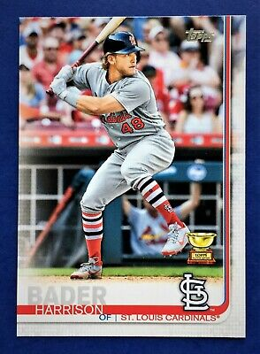 2019 HARRISON BADER  Topps #19  St. Louis Cardinals  All Star Rookie