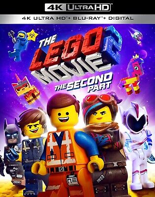 The LEGO Movie 2: The Second Part (4K Blu-Ray Disc/Digital Copy, 2019)