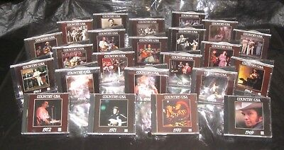 Pristine! Complete 23 CD Collection TIME LIFE Country USA & Western Classics