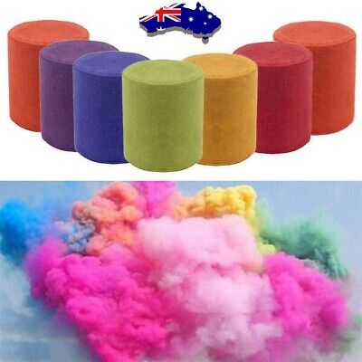 6x Colorful Smoke Effect Cake Props Bomb Shows Stage Party Photography Aiding AU