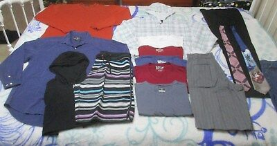 16 Items Mens Size Medium, See Photos & Description, New And As New