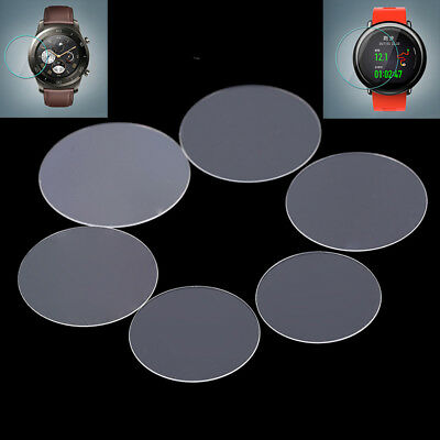 1pc tempered glass screen protector for 30/31/34/35/36/38mm round watch face LJ
