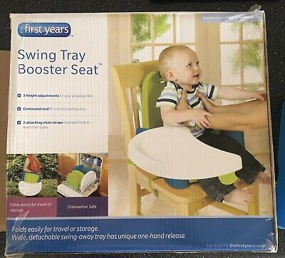 The First Years Swing Tray Booster Seat - Pre loved.