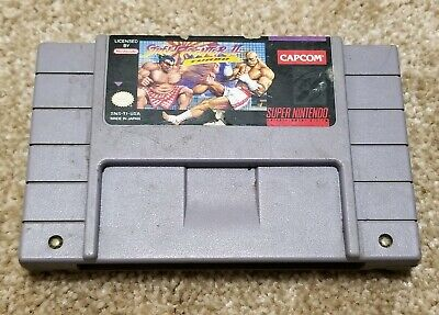 Street Fighter II Turbo Authentic Super Nintendo Video Game Cartridge Only, SNES