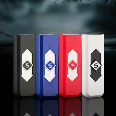 Fashion USB Rechargeable Cigar Cigarette Flameless Lighter Electronic Lighter