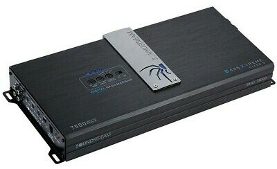 Soundstream BXA1-7500D 7500 Watt Mono Amplifier Monoblock Amp BX-10 Epicenter
