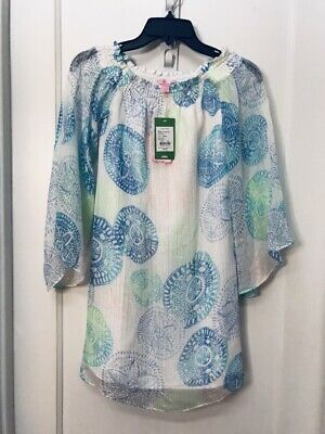 bd822f17f4890f Lilly Pulitzer Abi Dune Our Thing Off The Shoulder Silk Dress Nwt Sz Xxs  $258.0