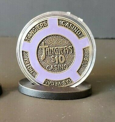 1 Limited Edition Discontinued Tangiers Chips Casino. $10