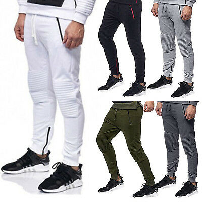 Men's Casual Slim Fit Sports Gym Pants Running Joggers Track Sweatpants Trousers