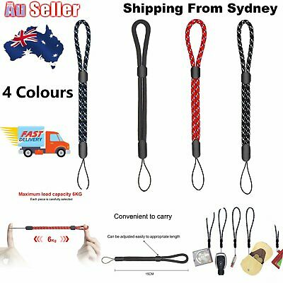 Adjustable Wrist Strap Hand Lanyard for Phone Camera USB Flash Drives Keys Cards