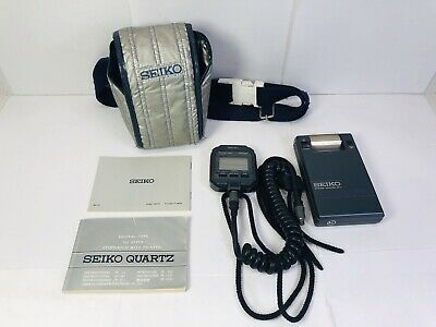 Great!! SEIKO SP11-02 Memory Stopwatch with Printer-Please Read- Fast Shipping