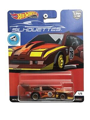 NEW 2019 Hot Wheels Premium Car Culture Silhouettes 76 Chevy Monza Chase