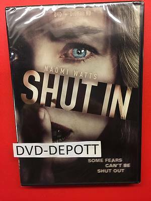 Shut In DVD + DIGITAL HD BRAND NEW FAST FREE SHIPPING W/tracking NO TAX