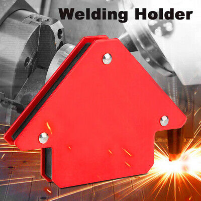 4pc Mini Magnetic Weld Holders Right Angle Soldering Welding Mag Square TE853