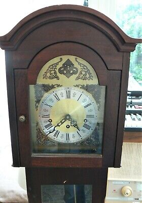 Franz Hermle Striking Longcase Clock In Working Order