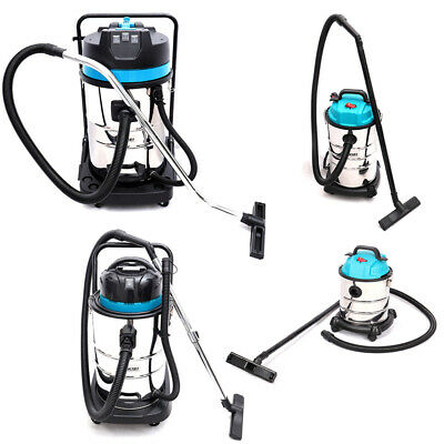 Industrial 20L/30L/50L/80L Wet and Dry Vacuum Cleaner Stainless Steel 1.2/3KW