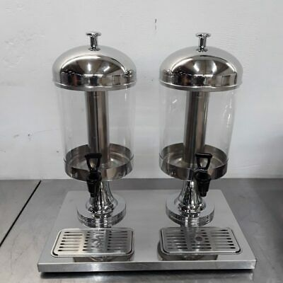 Commercial Juice Dispenser Double Display Drink Atosa