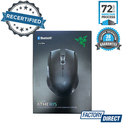 02f42cdc85c Razer Atheris Mobile Gaming Mouse Optical Portable Wireless Bluetooth 2.4Ghz