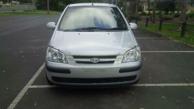 Hyundai Getz TB XL 2004 Silver 5 Speed Manual 3 Door Hatchback 1.3L