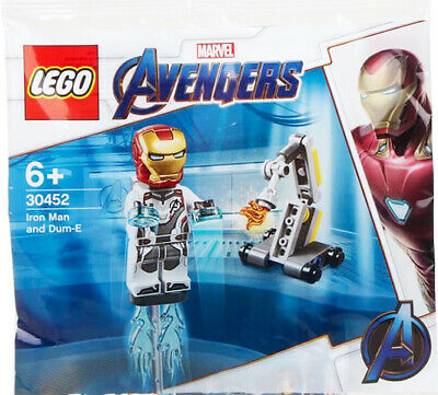 NEW - LEGO Polybag 30452 - Iron Man & Dum-E - Marvel Avengers Endgame