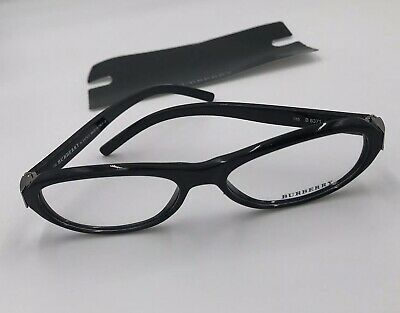 Burburry Ladies B 8371 Black Glasses- Frames Brand New With Tags