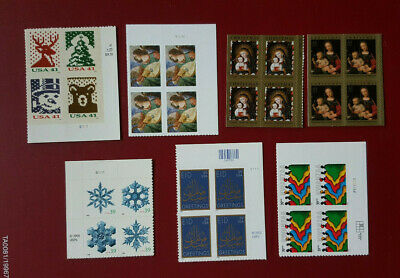 HOLIDAY US Postage Stamps MNH TOTAL OF 28 Stamps BELOW FACE VALUE