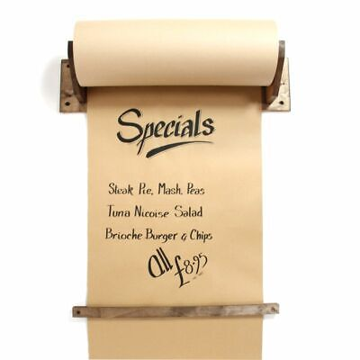 Kraft Paper Roll and Holder. Brown Paper Roll. Menu. Specials Board.Quick Change